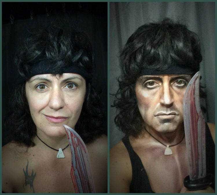 Lucia Pittalis makeup A incrível arte da maquiagem