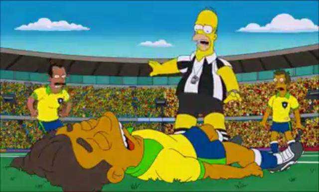 Os-Simpsons-previu-lesão-de-Neymar-diz-boato