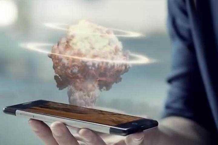 Takee1 Vem aí o celular holográfico!