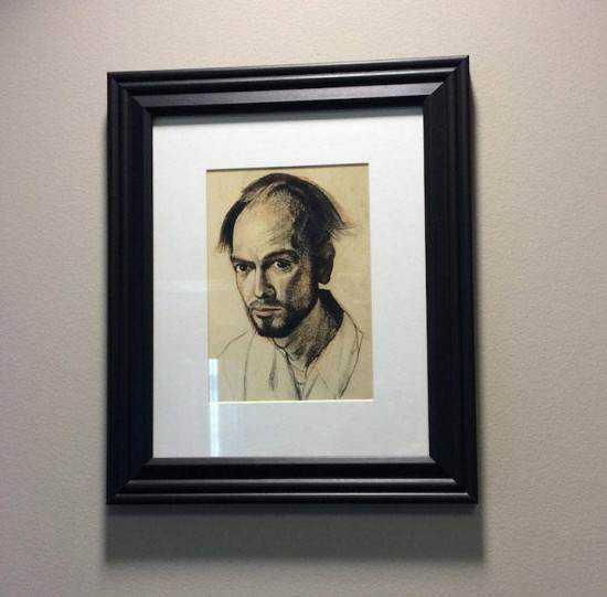 William Utermohlen alzheimer2 550x541 Artista com o Mal de Alzheimer faz seu autorretrato até esquecer como desenha