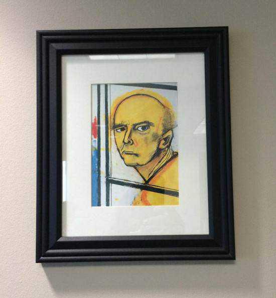 William Utermohlen alzheimer3 550x594 Artista com o Mal de Alzheimer faz seu autorretrato até esquecer como desenha