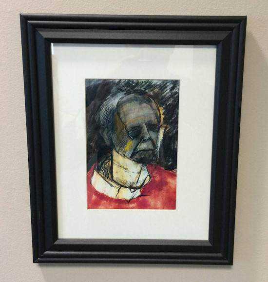 William Utermohlen alzheimer4 550x578 Artista com o Mal de Alzheimer faz seu autorretrato até esquecer como desenha