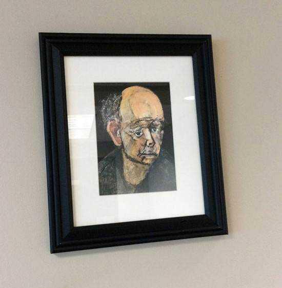 William Utermohlen alzheimer6 550x562 Artista com o Mal de Alzheimer faz seu autorretrato até esquecer como desenha