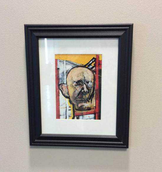 William Utermohlen alzheimer7 550x584 Artista com o Mal de Alzheimer faz seu autorretrato até esquecer como desenha