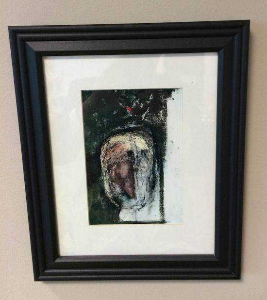 William Utermohlen alzheimer8 550x618 Artista com o Mal de Alzheimer faz seu autorretrato até esquecer como desenha
