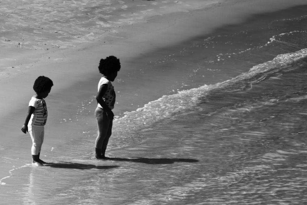 duas meninas de ébano low Fotos do fim de semana