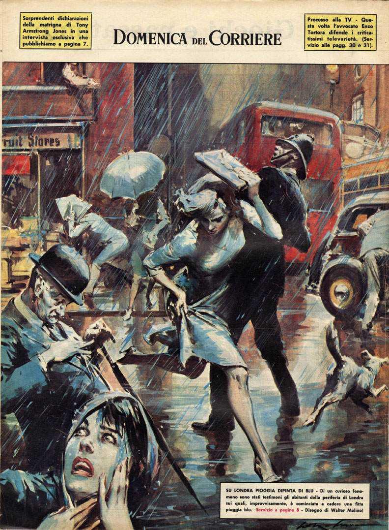 38b 1962 Domenica del Corriere e suas capas espetaculares