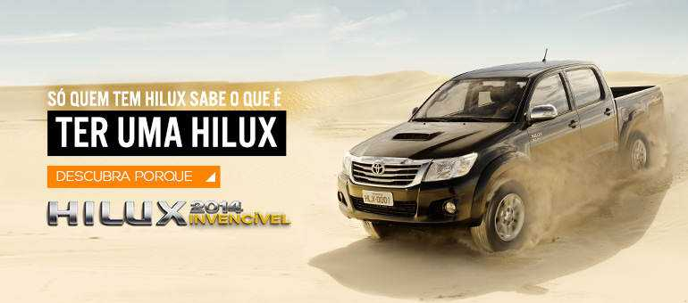 slideshow hilux A era da mentira