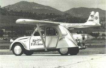 2cv plane Mais um carro voador bizarro