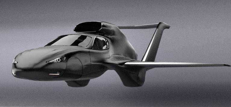 30114727091206 Mais um carro voador bizarro