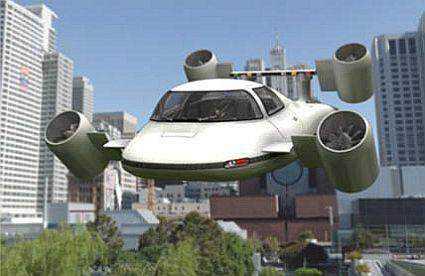 84973 Mais um carro voador bizarro