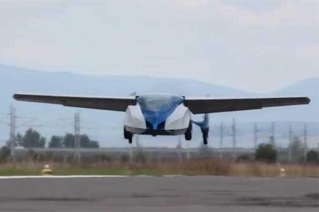 Aeromobil 2.5 Mais um carro voador bizarro