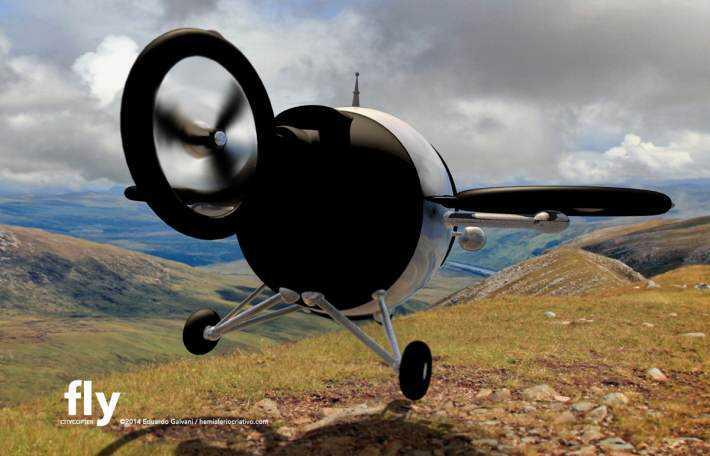 Citycopter6 Mais um carro voador bizarro