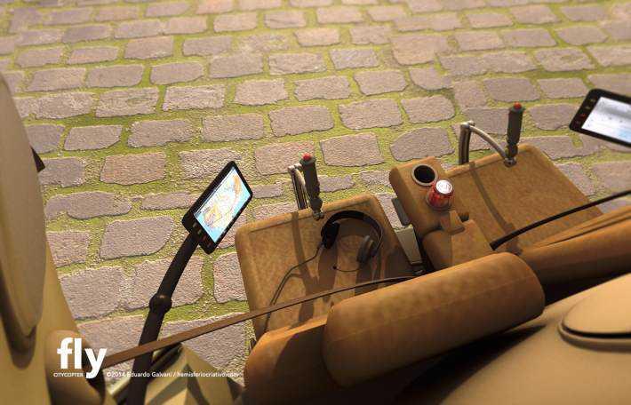 Citycopter7 Mais um carro voador bizarro
