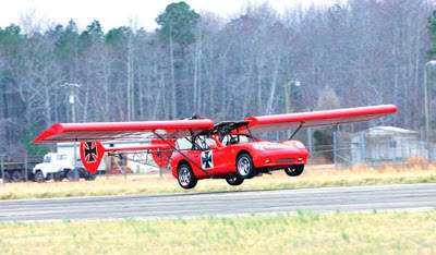 Monster Garage 1 Mais um carro voador bizarro