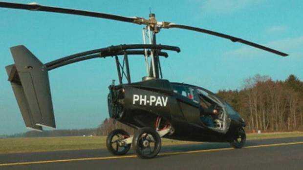 NETHERLANDS CAR PLANE O Mais um carro voador bizarro