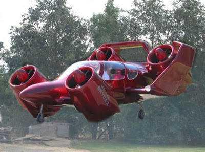 SkyCar Flying Car 1 Mais um carro voador bizarro