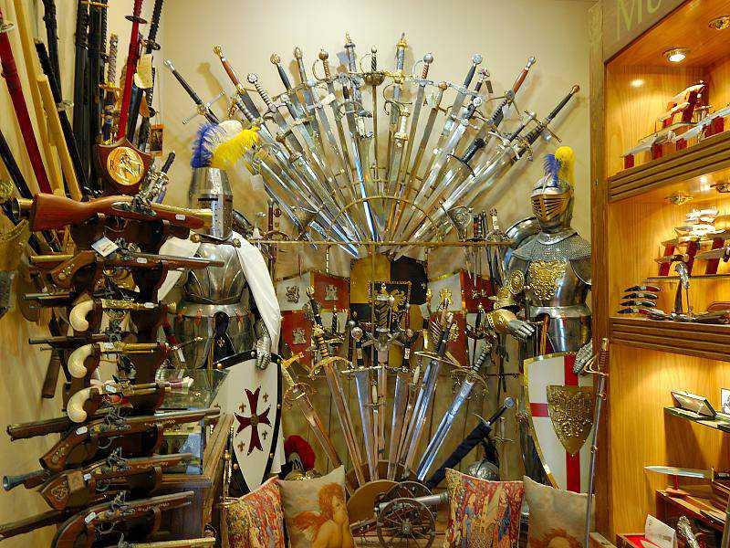 Souvenirs from Toledo Facas artesanais