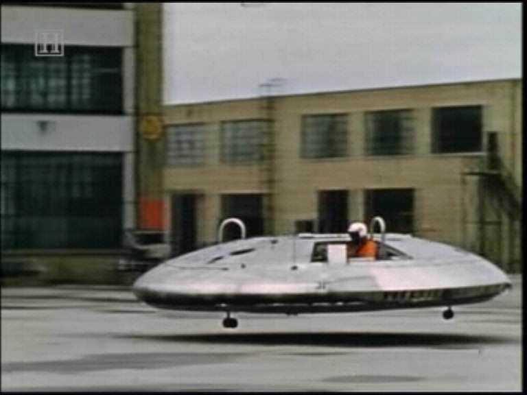 avro flying car Mais um carro voador bizarro