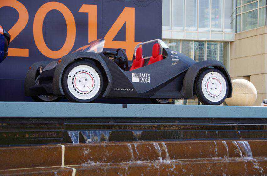 c5be5acc5f6308e66deb7f49bd81ac0c Strati, o carro impresso em 3d já está andando