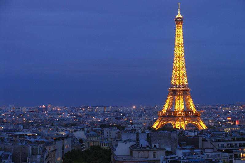 eiffel tower at night Turista, cuidado: Tirar foto da Torre Eiffel dá multa!