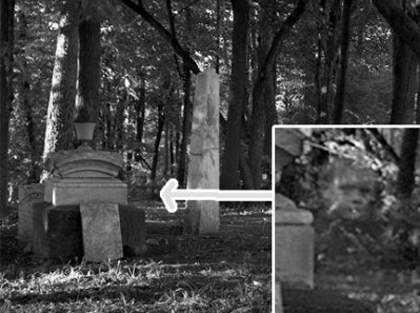 fantasmas cementerio Sinistro: Britânico escapa da morte com ajuda de fantasma