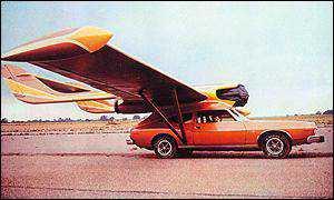 flying car Mais um carro voador bizarro