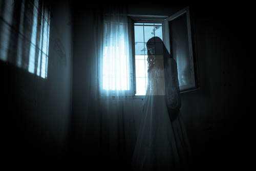 ghost shutterstock 117156934 WEBONLY1 Sinistro: Britânico escapa da morte com ajuda de fantasma
