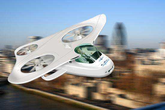 mycopter Mais um carro voador bizarro