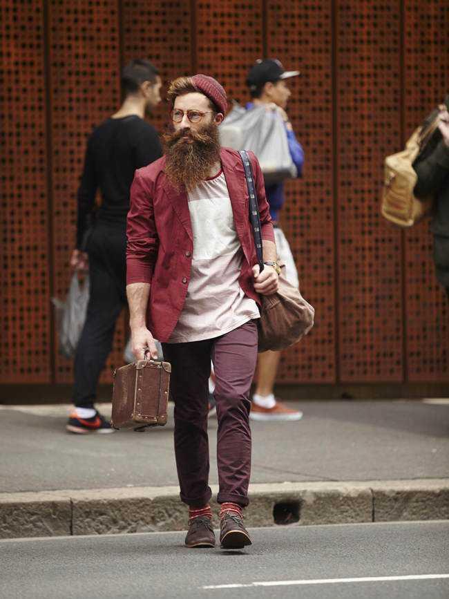 papai noel hipster substitui bom velhinho barrigudo de barba branca1 O curioso fenômeno Hipster: Ficando igual sendo diferente