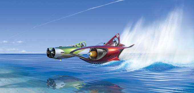 scott robertson 13 Mais um carro voador bizarro