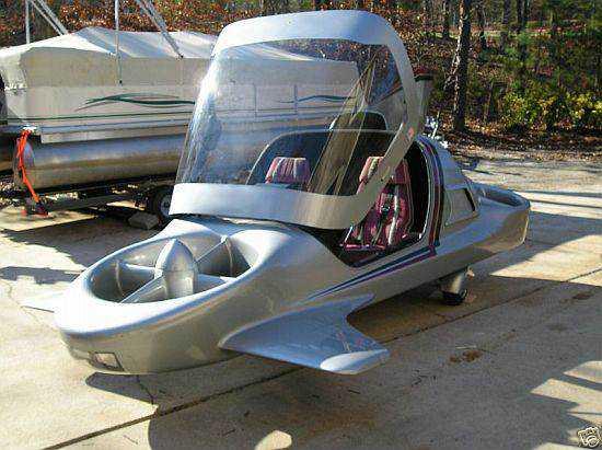 sky commuter prototype 48 Mais um carro voador bizarro
