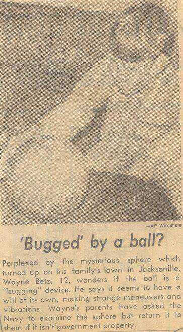 MysteryBallNewsPaperClip3 O mistério da esfera dos Betz