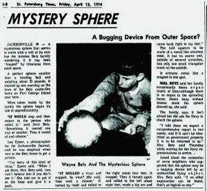 ST PETERSBURG TIMES APRIL 12 1974 300x277 O mistério da esfera dos Betz