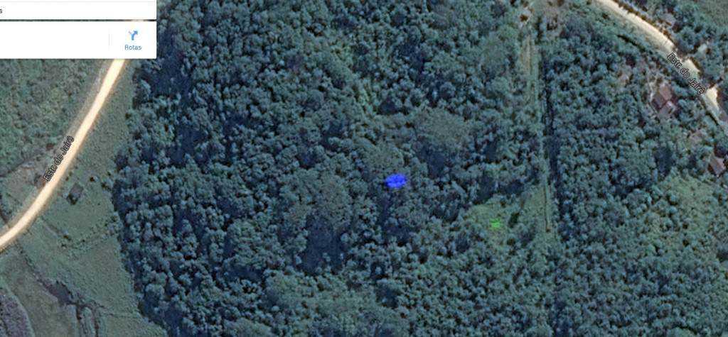azuleverde 1024x475 Pontos verdes misteriosos nas imagens de satélite: O que é isso?