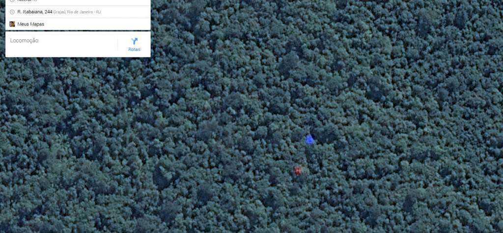 azulvermelho 1024x475 Pontos verdes misteriosos nas imagens de satélite: O que é isso?