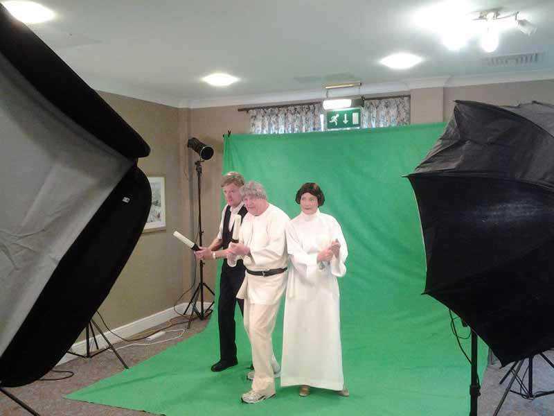 bfmt5 13 Behind the Scenes Star Wars Veja o calendário 2015 desse asilo