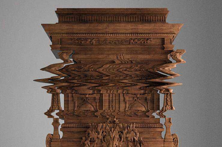 glitchy cabinet top O armário que buga sua mente