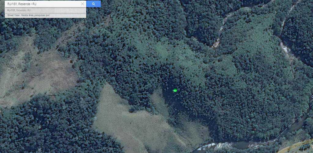 luz estranha 1024x500 Pontos verdes misteriosos nas imagens de satélite: O que é isso?
