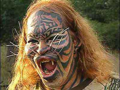 tigerman Cirurgia plástica: Top 10 mudanças faciais bizarras