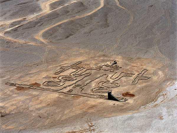 Andrew Rogers 8 Desenhos para serem vistos dos céus: O mistério dos geoglifos pelo mundo