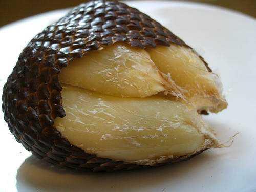 snake fruit Frutas esquisitas