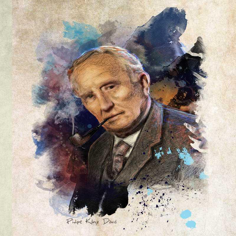 almofadatolkien low Tributo ao J.R.R. Tolkien