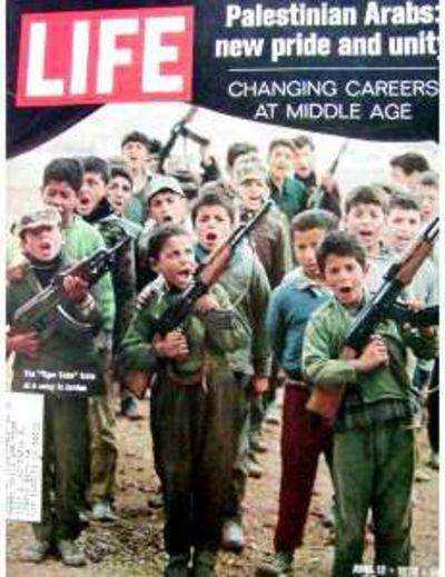 life mag cover pal kids w guns 1970 1 Novos exércitos