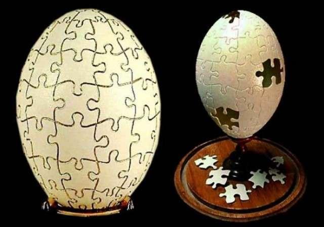 %name Escultura no ovo