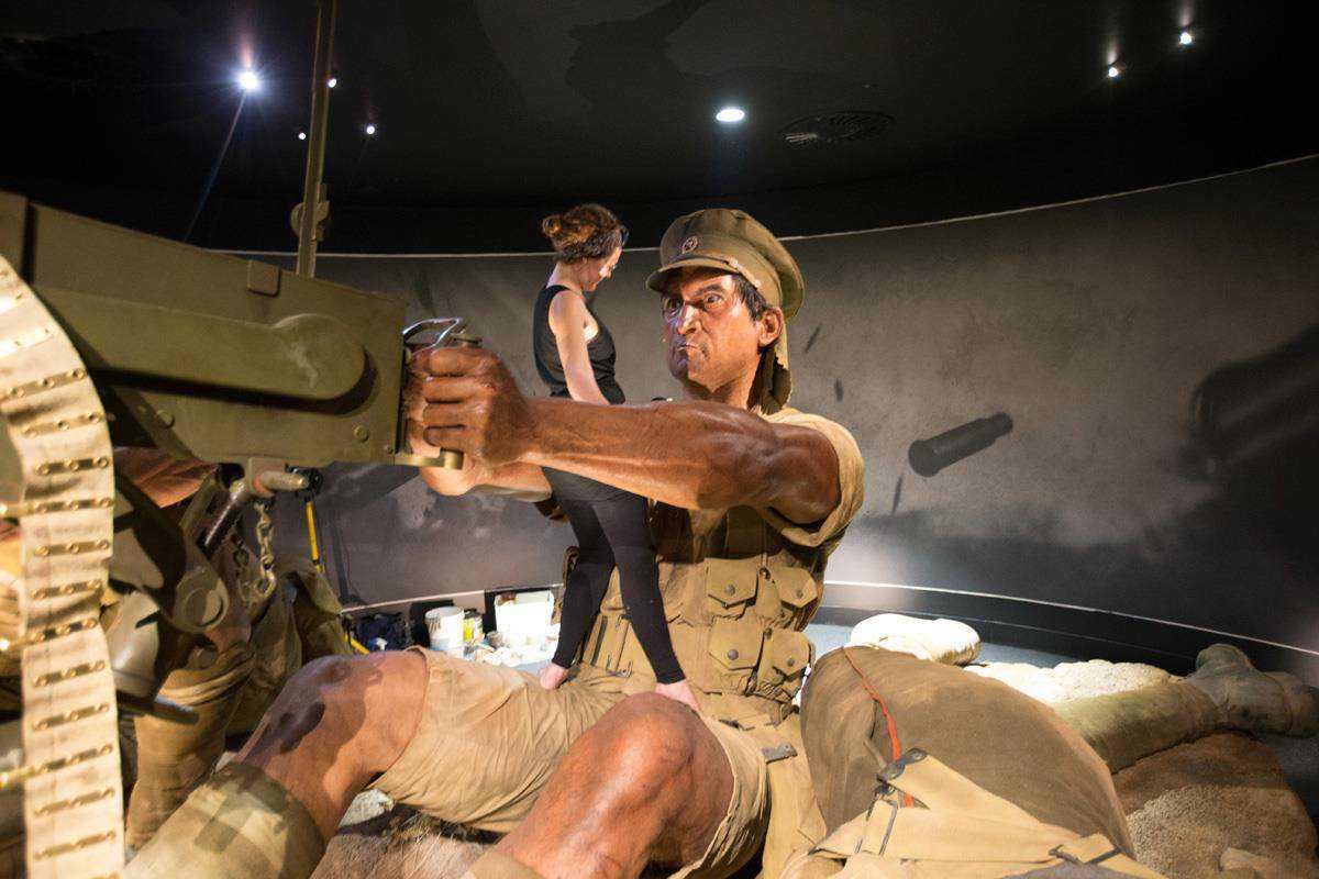 11130444 10153555870246777 1445133875721186637 o Weta recria cenas impressionantes da Guerra numa perspectiva gigante
