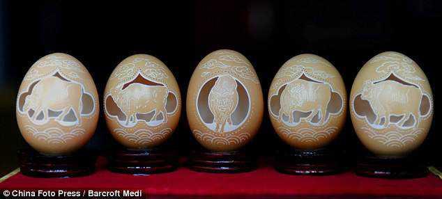 15ad8609c09bc63bd46752699ed70e24 Escultura no ovo