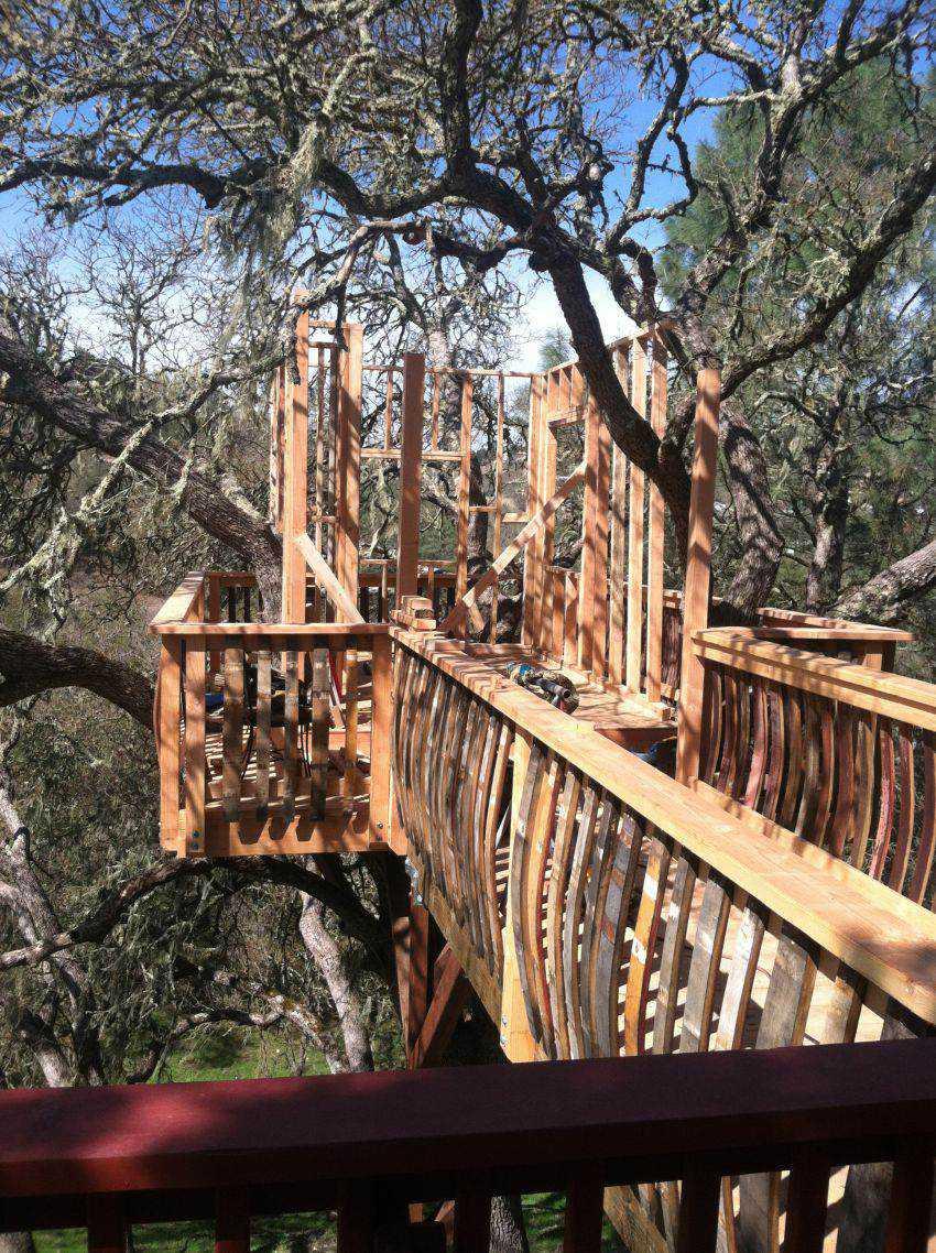 6dd72d177d396ff10c65d4ebe63d8eff Casa na árvore: Um projeto completo