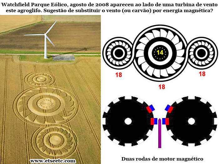 umberto baudo 2 Mistério alien: Os crop circles seriam diagramas de motores magnéticos?