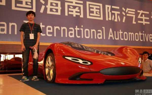 carraochina4 Chinês constrói um supercarro em casa